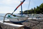 Balinese vissersboot
