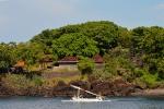 Vissersboot in de baai