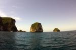 Manta Point bij het eiland Nusa Penida