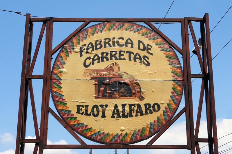 Werkplaats Carretas te Sarchi