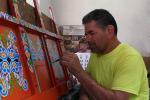 Beschilderen van Traditionele Carreta