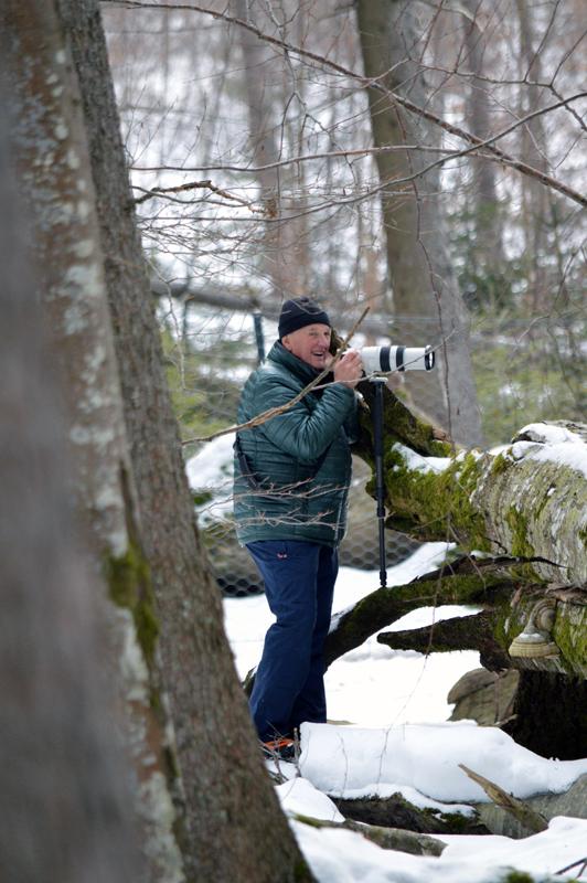 Fotograaf Arthur de Bock fotografeerd de wilde zwijnen