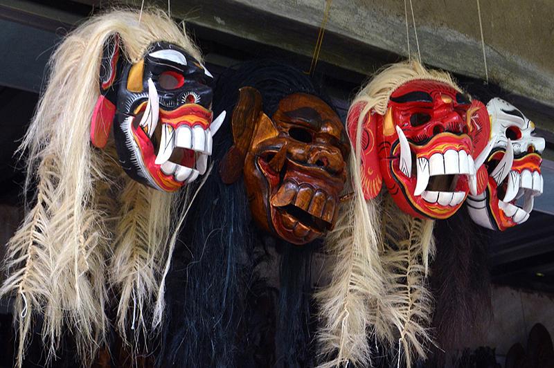 Balinese maskers