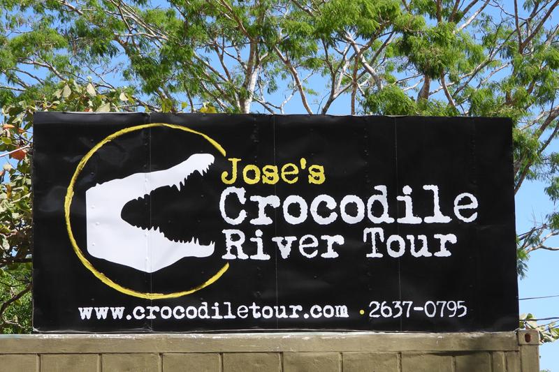 Een spannend tourtje over de Tarcoles rivier