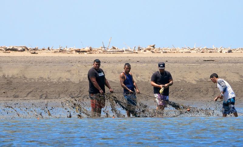 Plaatselijke vissers