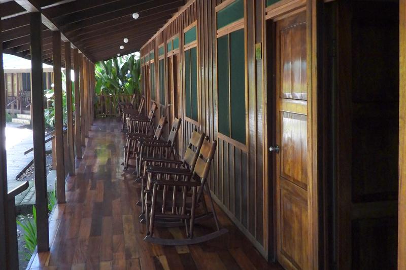 Hotel op Tortuguero