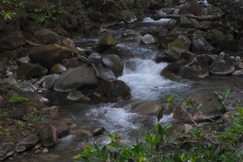 Waterval in Nationaal park Rincon de la Vieja