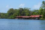 Aankomst Tortuguero per snelle boot