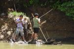 Lekker vissen in de Rio Frio