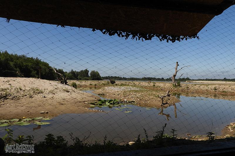 IJsvogelhut voormalig zandwinningsterrein  Markelo