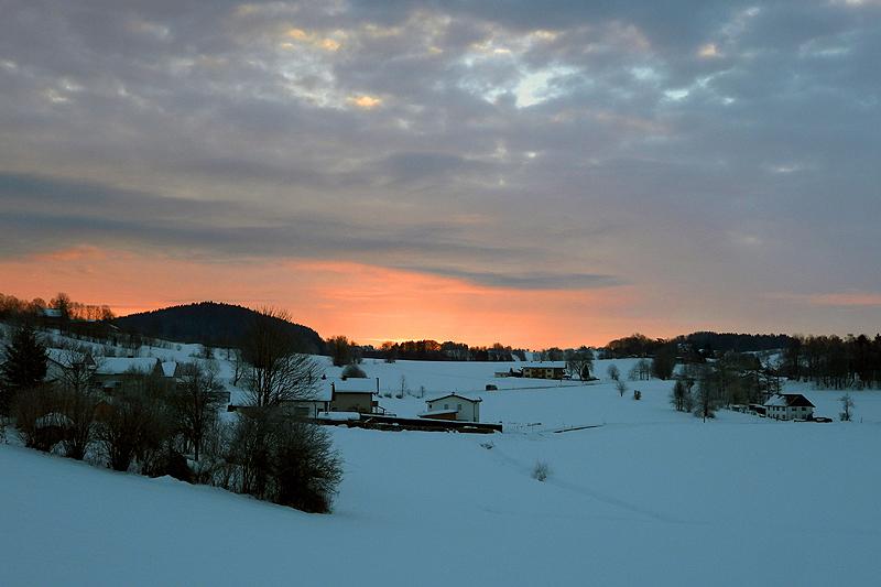 Zonsopkomst Beierse Woud