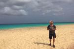 De fotograaf op het strand