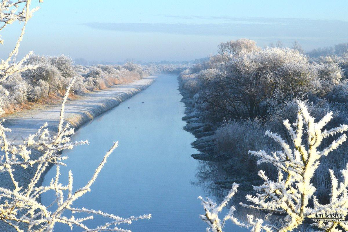 Winter in de Amsterdamse waterleidingduinen