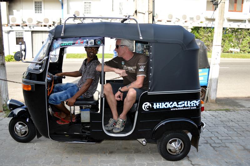 Nog effe met de Tuktuk op pad